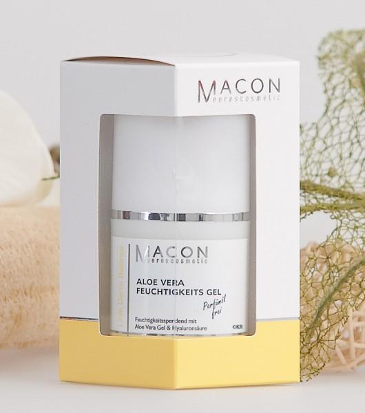 Macon Meereskosmetik - Aloe Vera Feuchtigkeitsgel - Derm Balance