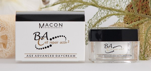 Macon Meereskosmetik - Age Advanced Daycream - BA Cell repair Activ