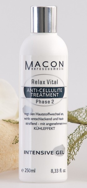 Macon Meereskosmetik - Intesive Gel - Relax Vital Anti Cellulite Treatment
