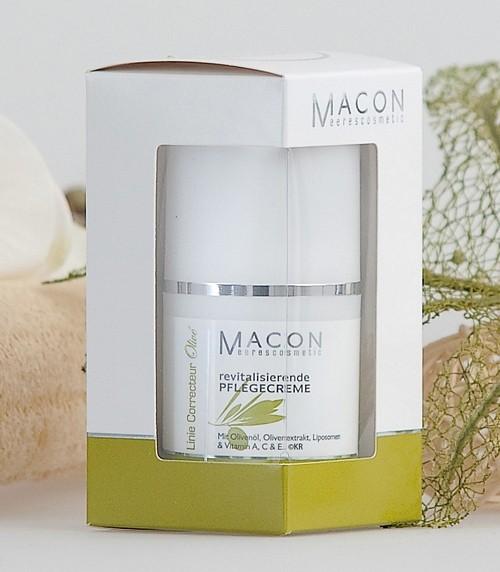 Macon Meereskosmetik - Revitalisierende Care Cream - Correcteur Olive