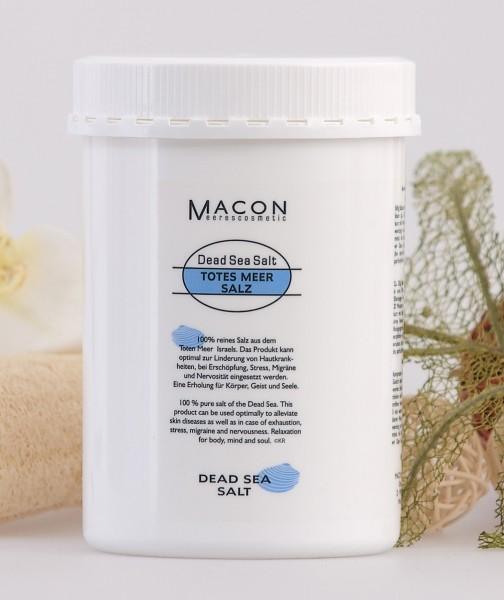 Macon Meereskosmetik - Totes Meer Salz - Dead Sea Salt Totes Meer Salz