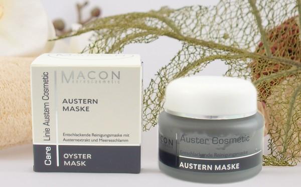 Macon Meereskosmetik - Austern Maske - Auster Cosmetic