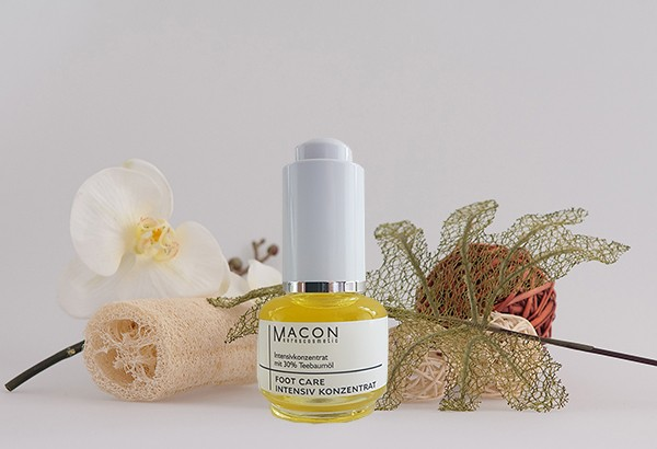Macon Meereskosmetik - Teebaumöl Intensiv Serum - Foot Care Fußpflege