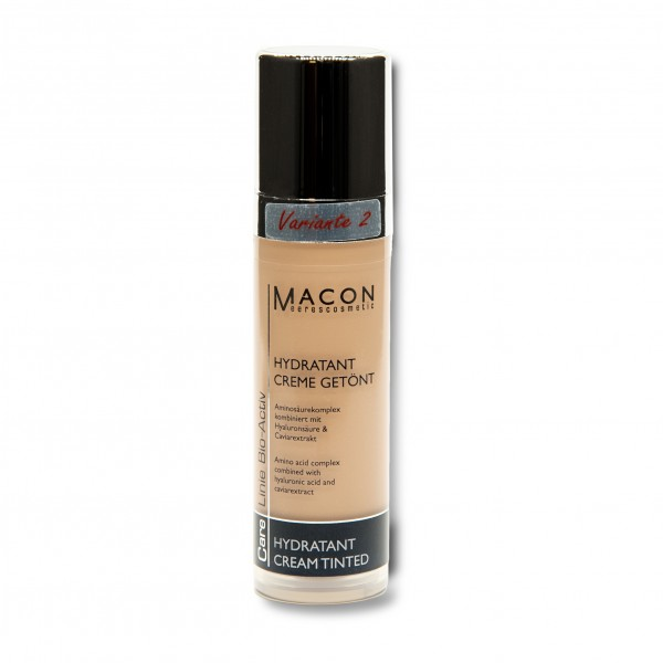Macon Meereskosmetik - Hydratant Creme getönt Variante 2 - Bio Activ Hydratant