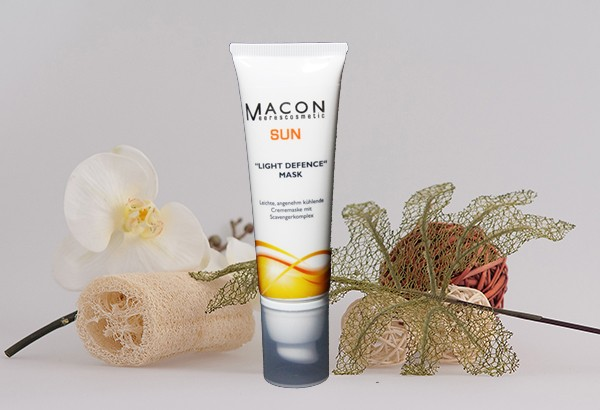 Macon Meereskosmetik - Light Defence Maske Mask - Light Defence Sommercreme