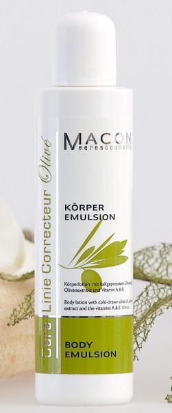 Macon Meereskosmetik - Olive Body Emulsion - Correcteur Olive
