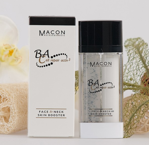 Macon Meereskosmetik - Face to Neck Skin Booster - BA Cell repair active