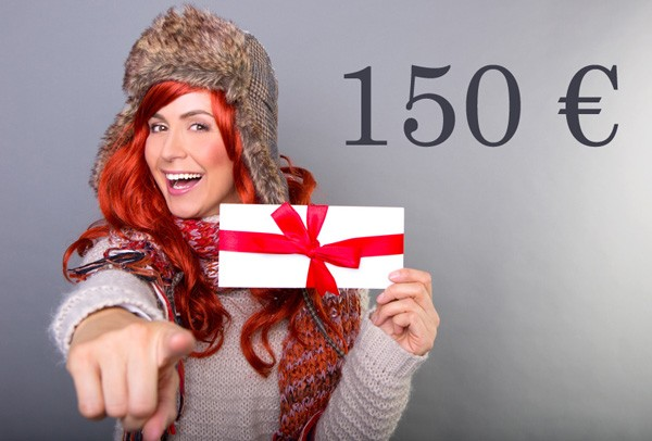 Kosmetik Geschenkgutschein 150 €