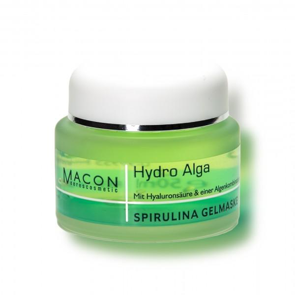 Macon Meereskosmetik - Spirulina Gelmaske Mask - Hydro Alga
