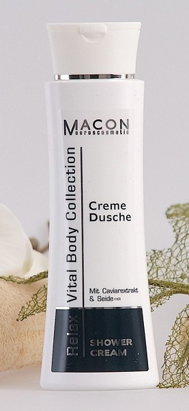 Macon Meereskosmetik - Creme Dusche - Relax Vital Body Collection