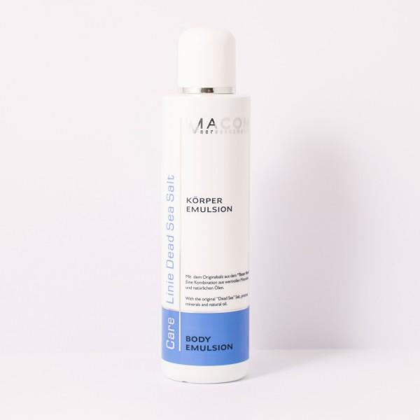 Macon Meereskosmetik - Körper Emulsion Bodyemulsion mit Parfumöl - Dead Sea Salt Totes Meer Salz