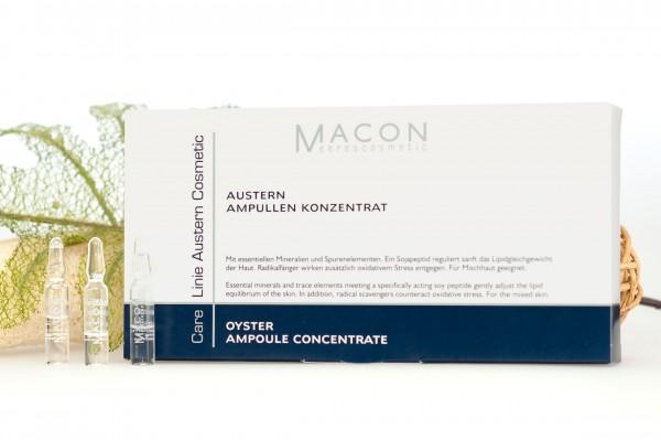 Macon Meereskosmetik - Austern Ampulle Konzentrat - Auster Cosmetic