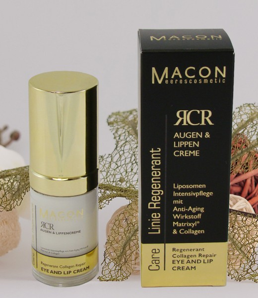 Macon Meereskosmetik - Repair Augen und Lippen Creme - Regenerant Collagen Repair