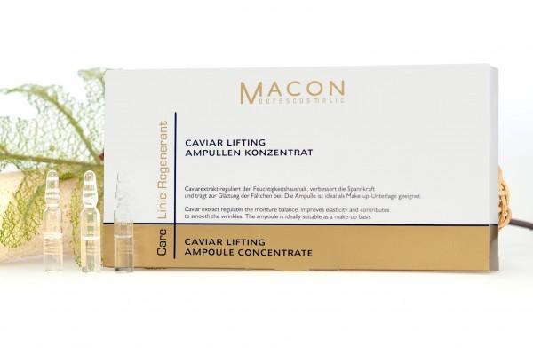 Macon Meereskosmetik - Caviar Lifting Ampullen Konzentrat - Regenerant Forte