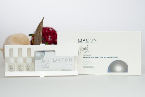 Macon Meereskosmetik - Anwendungsset für die Heimpflege Lif intensiv - Pearl Neu