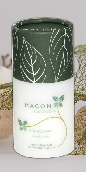 Macon Meereskosmetik - Handcreme Naturkosmetik - Naturelles