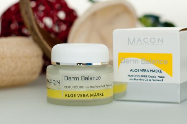 Macon Meereskosmetik - Aloe Vera Creme Maske - Derm Balance