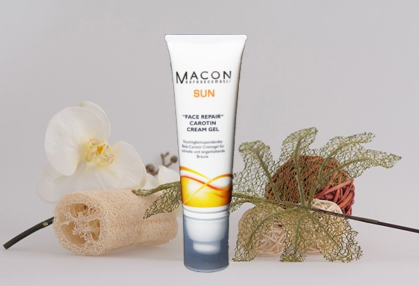 Macon Meereskosmetik - Face Repair Carotin Cremegel - Sun Collection