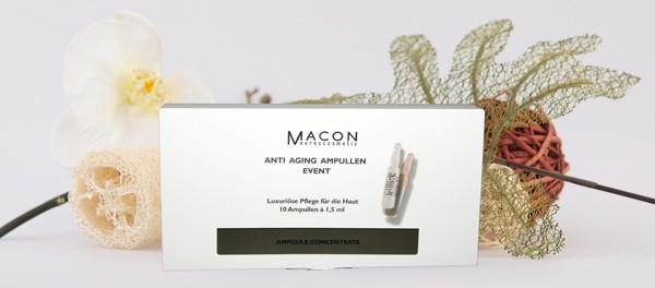 Macon Meereskosmetik - Anti-Aging Ampullen Event