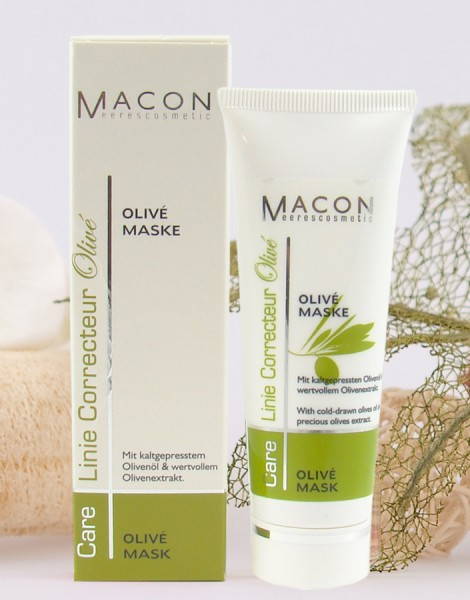 Macon Meereskosmetik - Olive Maske - Correcteur Olive