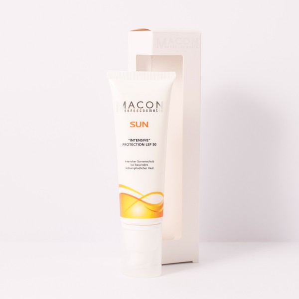 Macon Meereskosmetik - Intensiv Protection LSF 50 Creme - Sun Collection