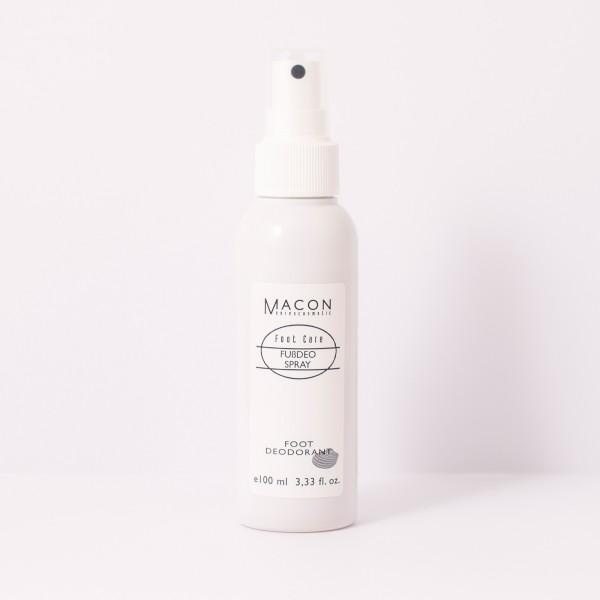 Macon Meereskosmetik - Fußdeo Spray Deodorant - Foot Care Fußpflege