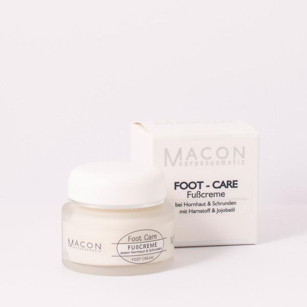 Macon Meereskosmetik - Fußcreme - Foot Care Fußpflege
