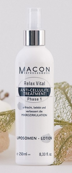 Macon Meereskosmetik - Liposomen Lotion - Relax Vital Anti Cellulite Treatment