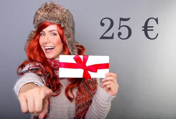Kosmetik Geschenkgutschein 25 €