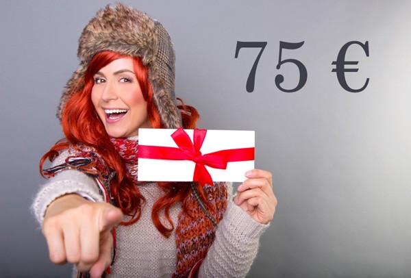 Kosmetik Geschenkgutschein 75 €