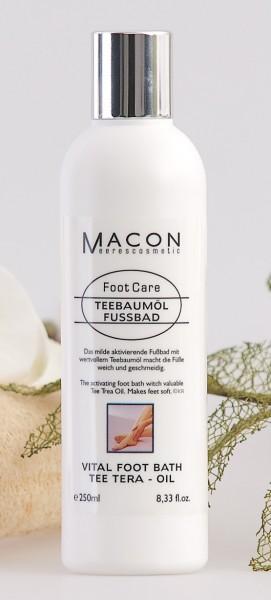 Macon Meereskosmetik - Teebaumöl Fußbad - Foot Care Fußpflege
