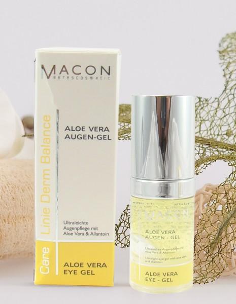 Macon Meereskosmetik - Aloe Vera Augengel - Derm Balance