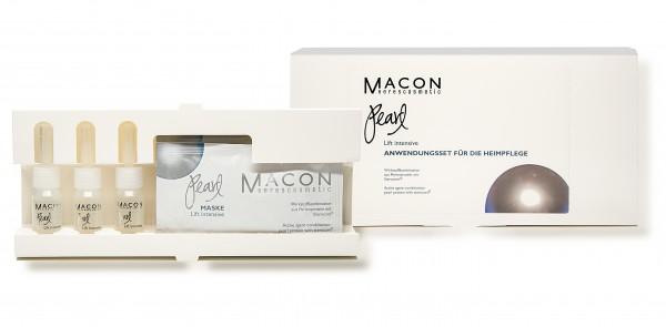 Macon Meereskosmetik - Anwendungsset für die Heimpflege Lif intensiv - Pearl