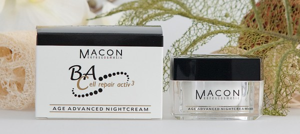 Macon Meereskosmetik - Age Advanced Nightcream Nachtcreme - BA Cell repair activ