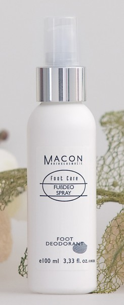 Macon Meereskosmetik - Fußdeo Spray Deodorant - Foot Care Fußpflege