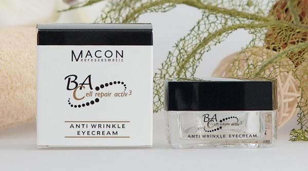 Macon Meereskosmetik - Anti Wrinkle Eyecream - BA Cell repair active
