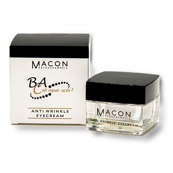 Macon Meereskosmetik - Anti Wrinkle Eyecream - BA Cell repair activ